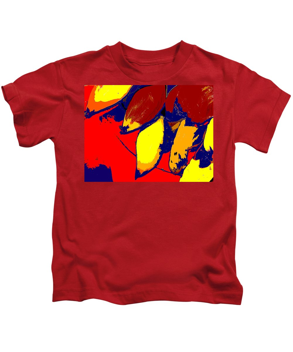Red Kids T-Shirt featuring the photograph Forbidden Fruit by Ian MacDonald
