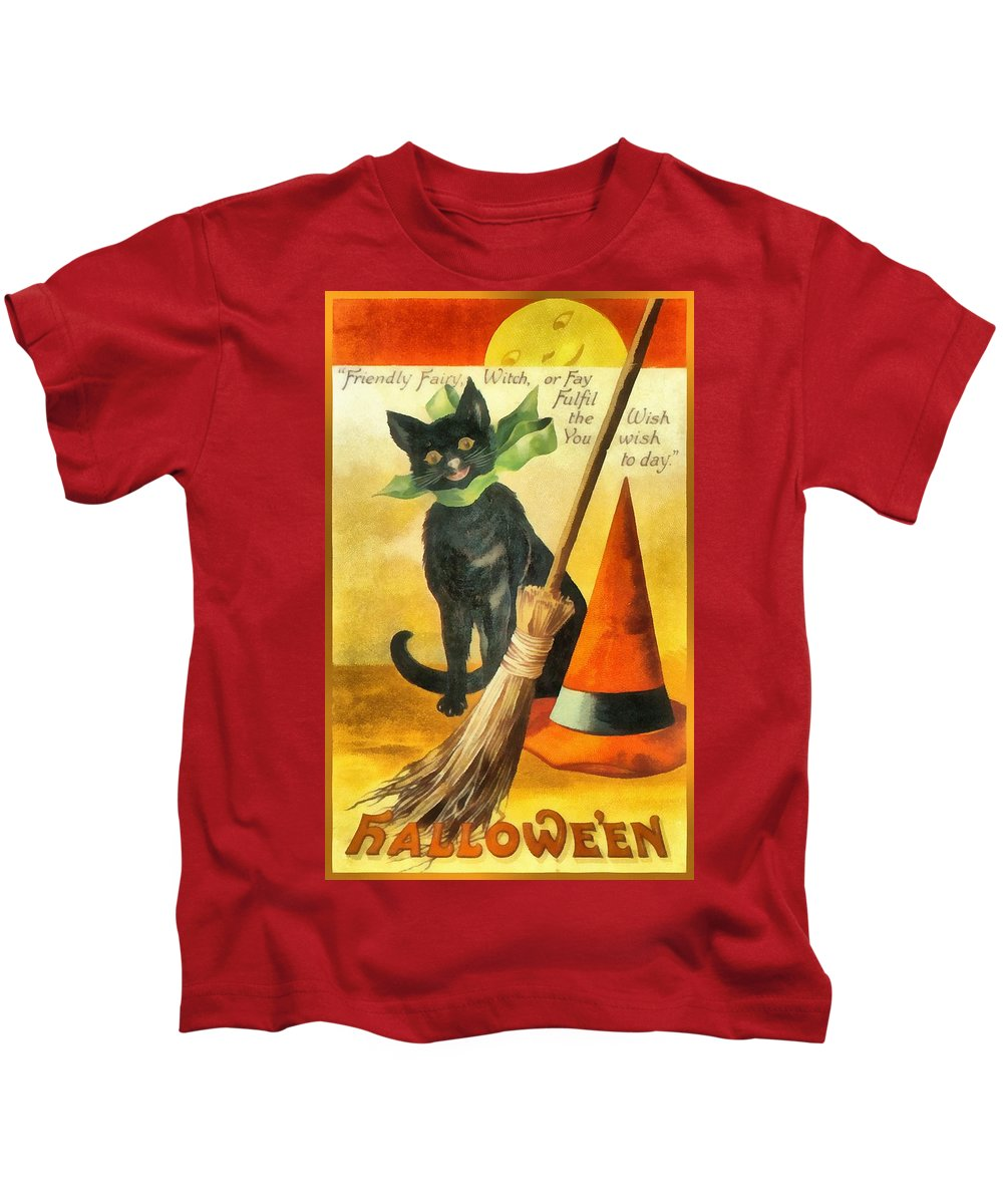 Unknown Kids T-Shirt featuring the photograph Friendly Fairy Wish by Unknown