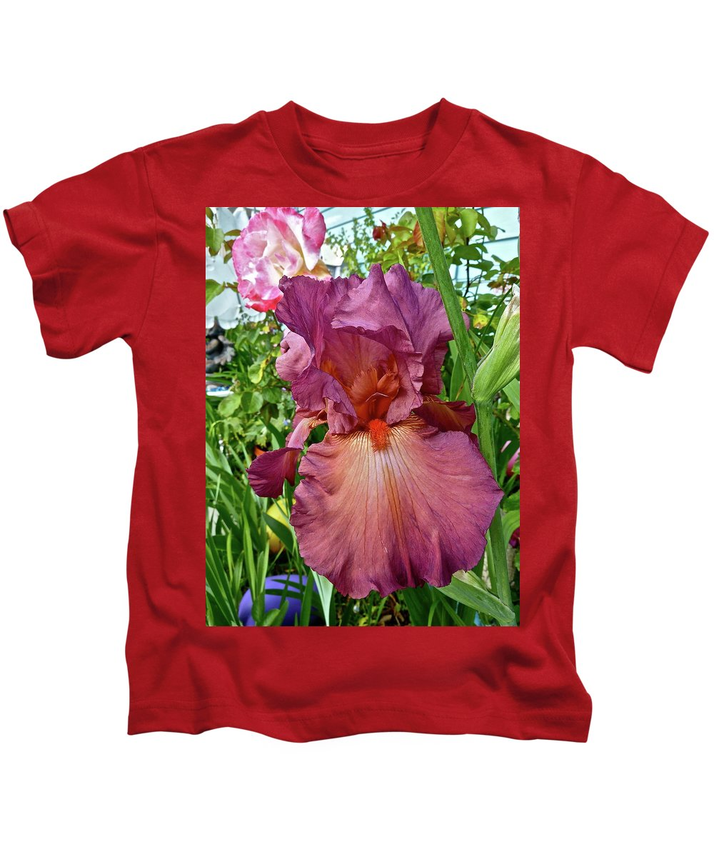 Flowers Kids T-Shirt featuring the photograph God's Gift by Diana Hatcher