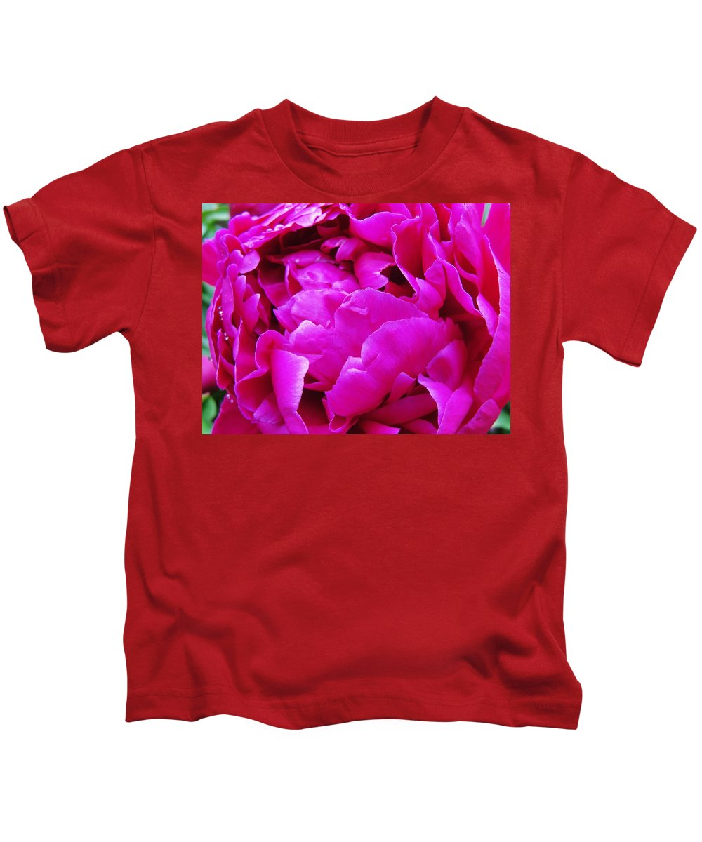 Flowers Kids T-Shirt featuring the photograph Gorgeous Pink by Christine Olson