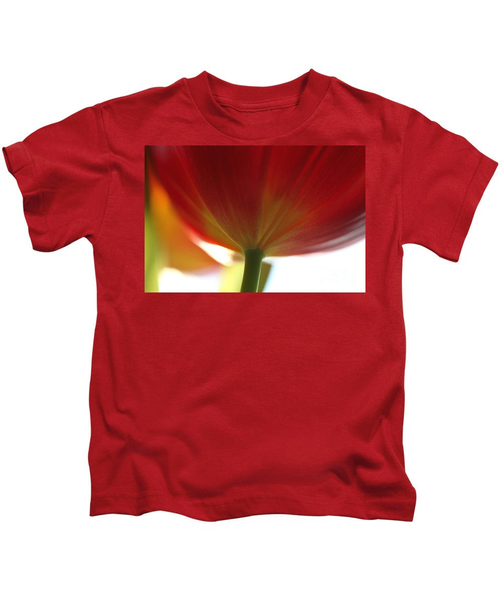 Tulip Kids T-Shirt featuring the photograph Help Is Here by Amanda Barcon