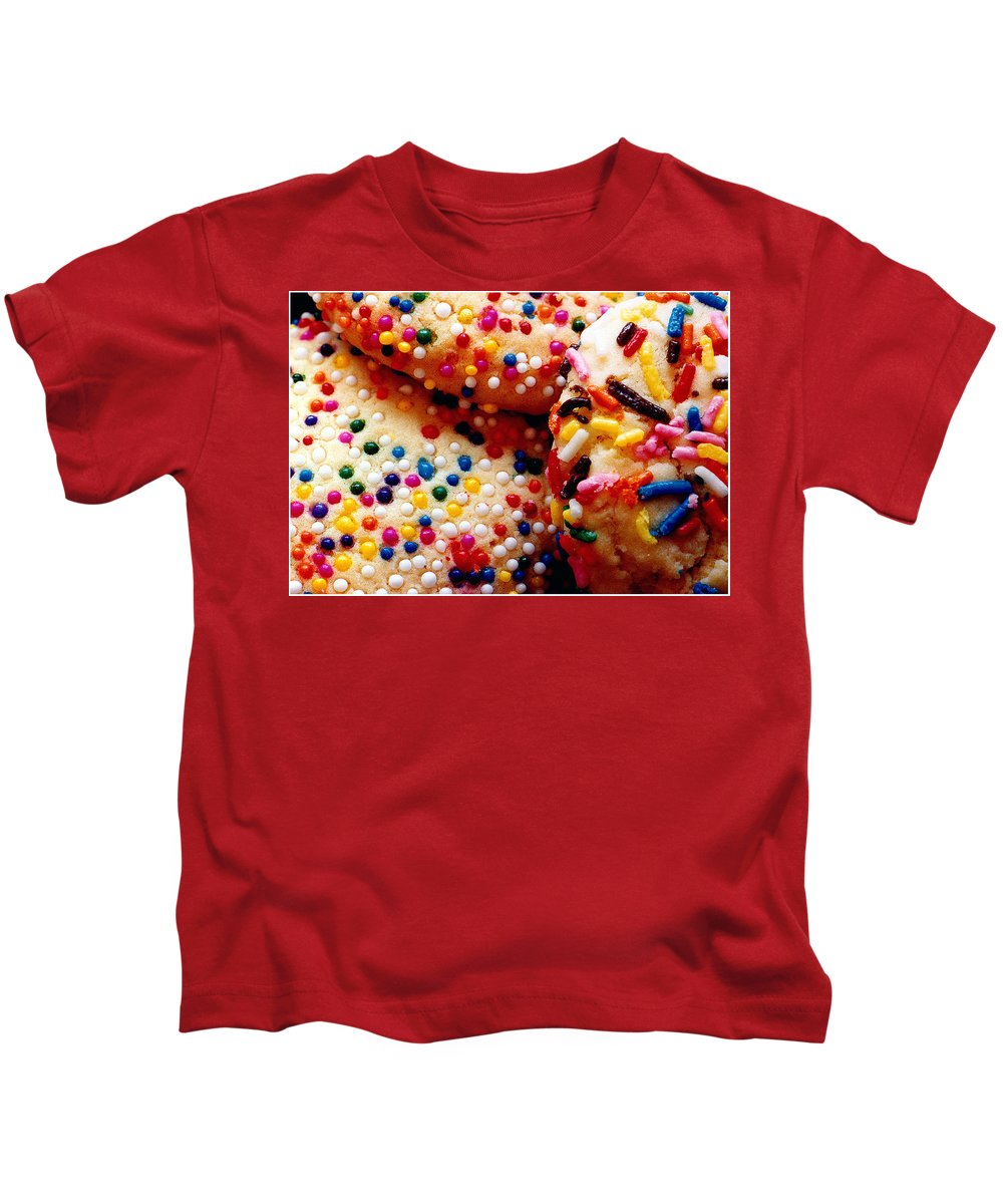 Cookie Kids T-Shirt featuring the photograph Holiday Cookies by Nancy Mueller