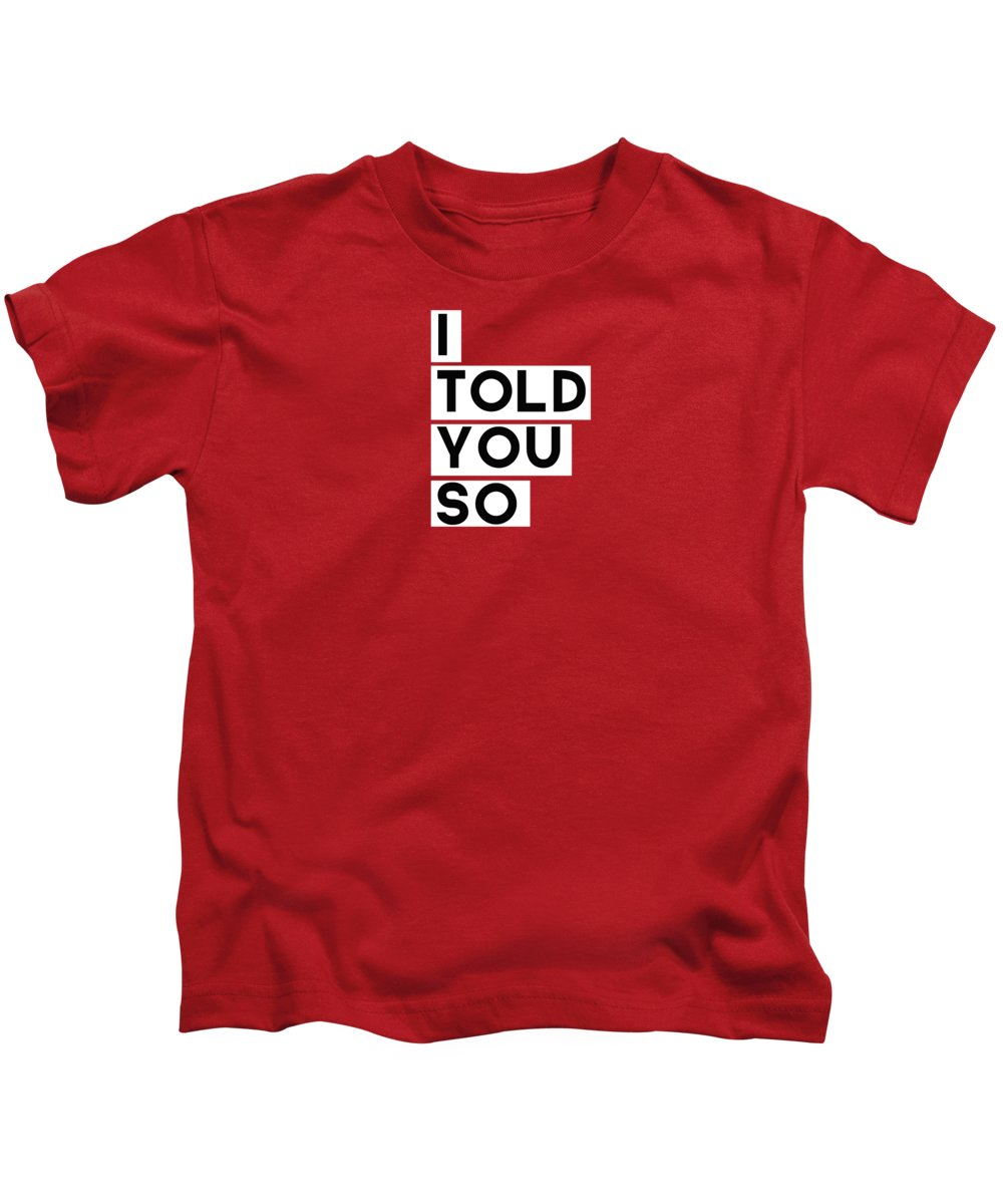 Red Kids T-Shirts