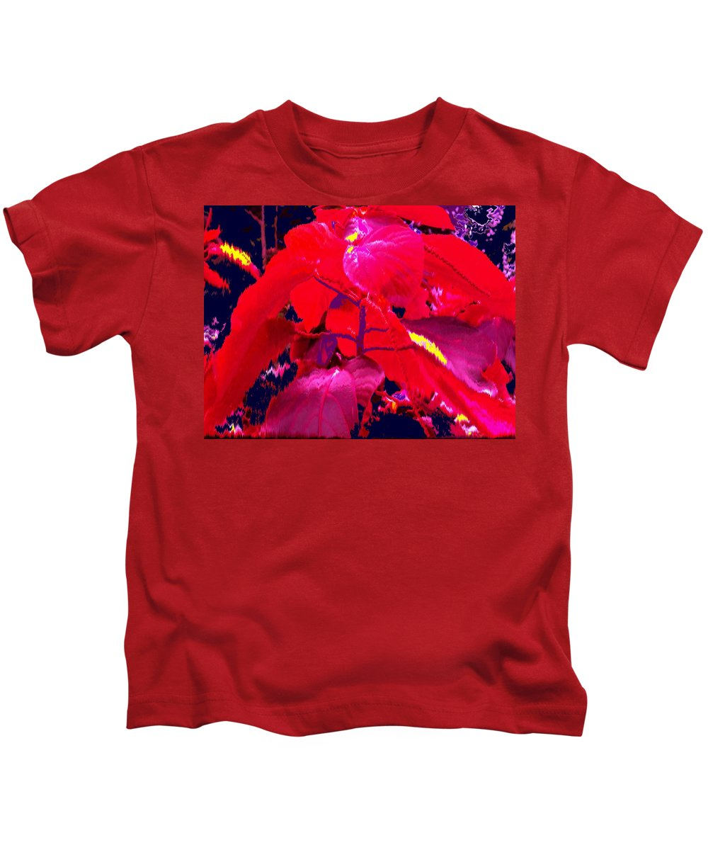 Abstract Kids T-Shirt featuring the photograph In The Jungle by Ian MacDonald