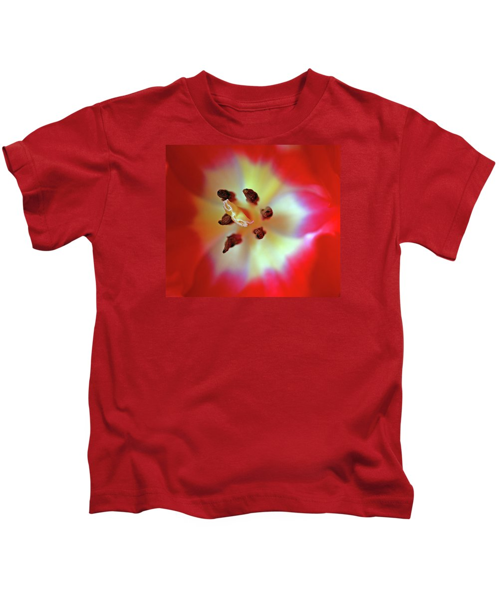 Tulip Kids T-Shirt featuring the photograph Inner Spirit by Bill Morgenstern