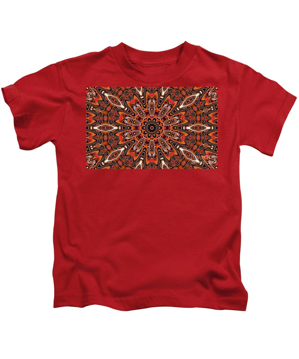 Kaleidoscope Kids T-Shirt featuring the photograph Kaleidoscope 85 by Ron Bissett