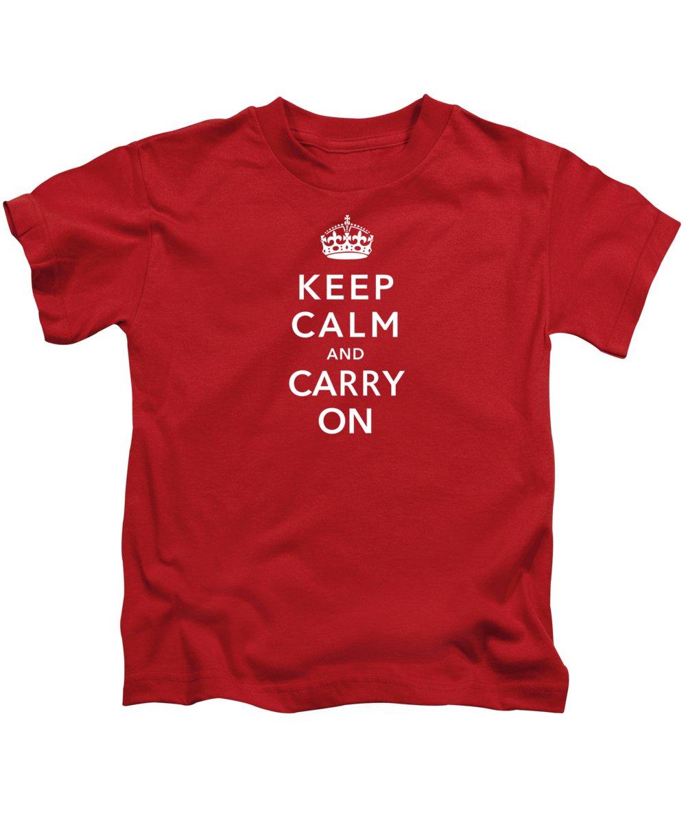 England Digital Art Kids T-Shirts