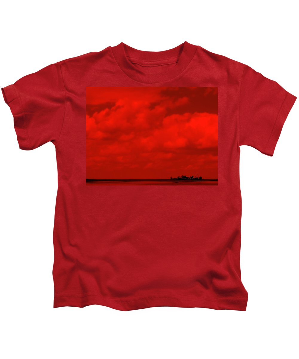 Sky Kids T-Shirt featuring the photograph Life On Mars by Ed Smith