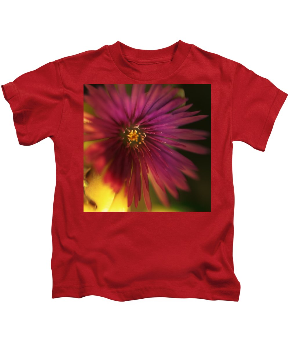 Macro Kids T-Shirt featuring the photograph Me In You by Zapista