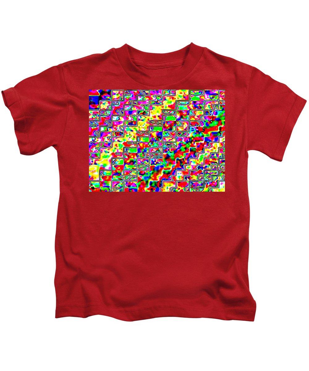 Micro-macro Kids T-Shirt featuring the digital art Micro-macro 3 by Will Borden