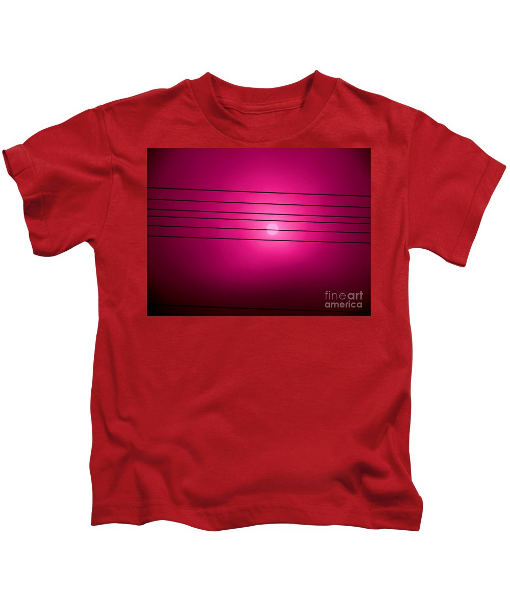 Morning Sun Kids T-Shirt featuring the photograph Morning Sun In G Marionberry by Martin Brockhaus