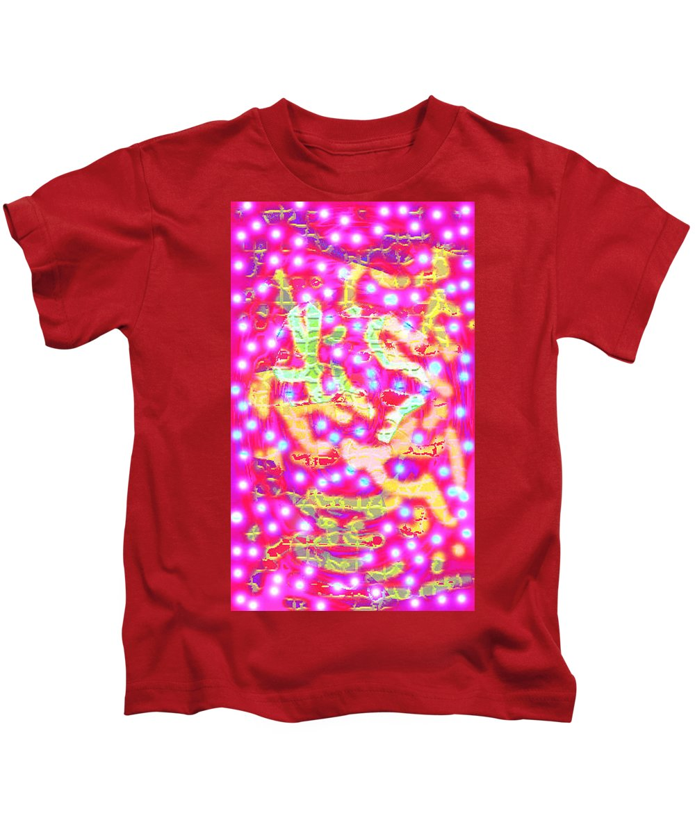 Moveonart! Digital Gallery Kids T-Shirt featuring the digital art Moveonart A Place To Live Two by Jacob Kanduch