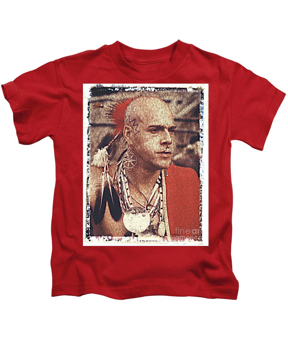 Native American Kids T-Shirt featuring the photograph Native Of New York State by Keith Dillon