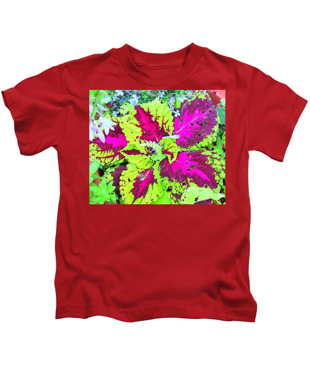 Flower Kids T-Shirt featuring the photograph Natural Abstraction by Ian MacDonald