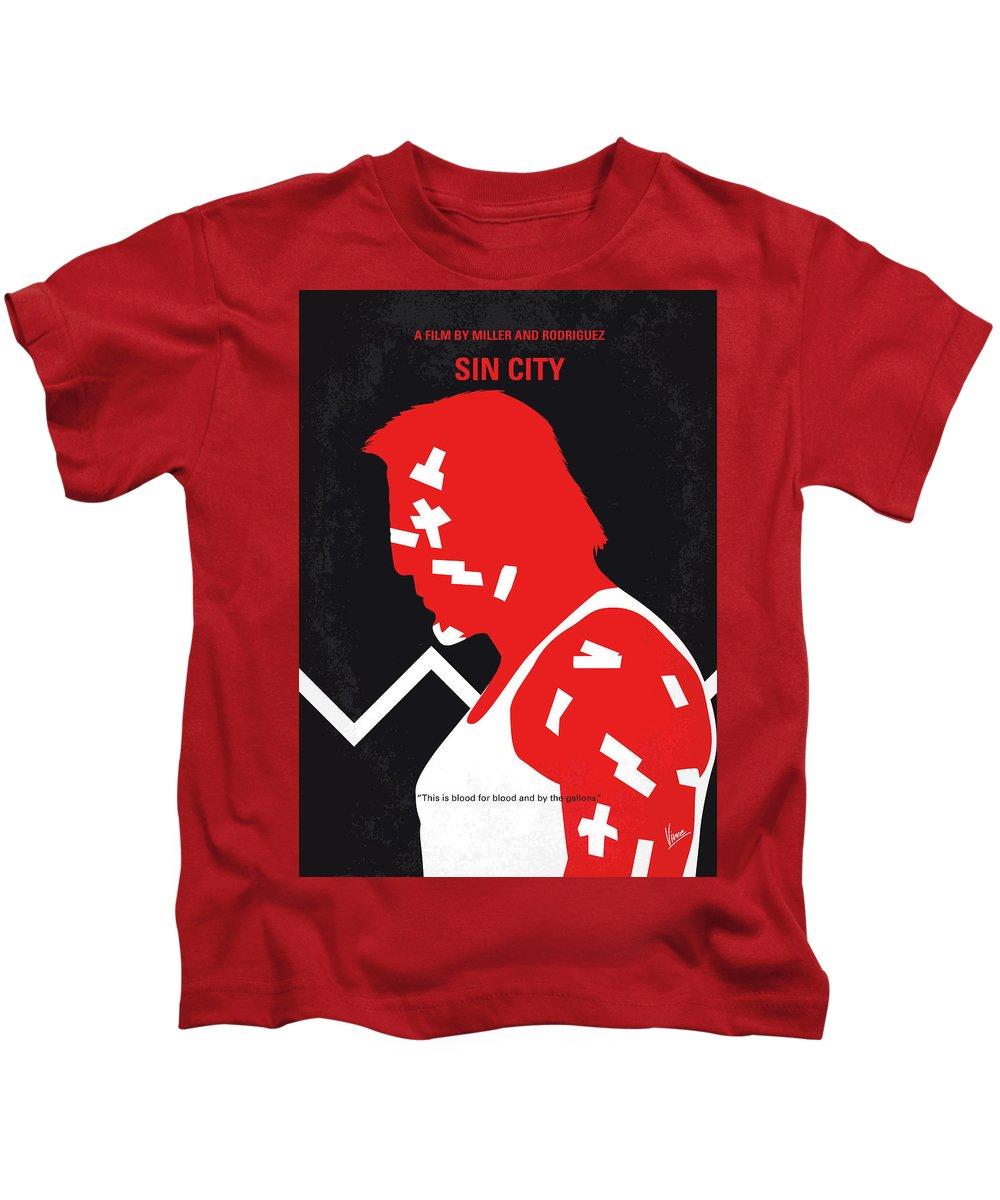 Jessica Alba Digital Art Kids T-Shirts
