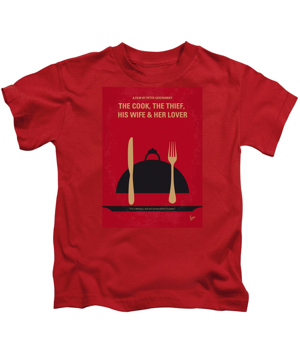 7b445f172d The Kids T-Shirt featuring the digital art No487 My The Cook The Thief His