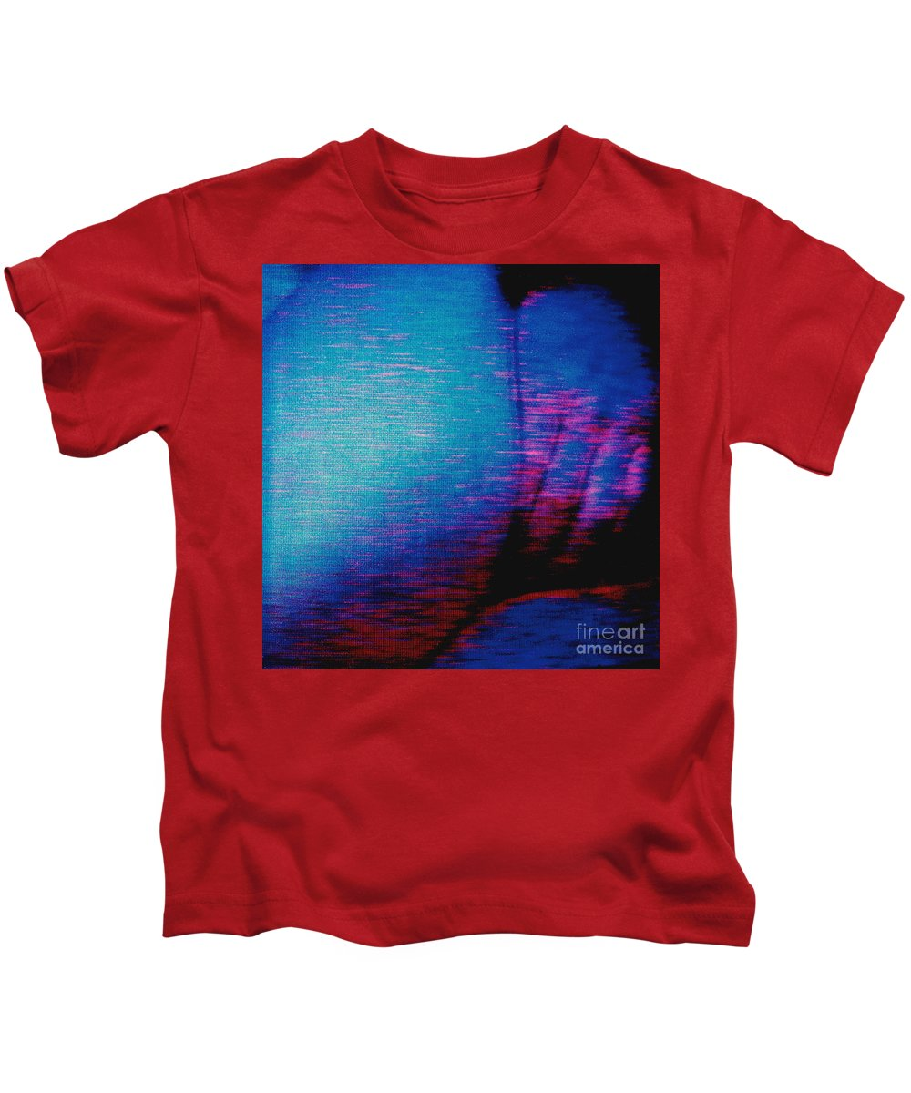 Polaroid Found Art Kids T-Shirt featuring the photograph Not Ready Yet by Keith Dillon
