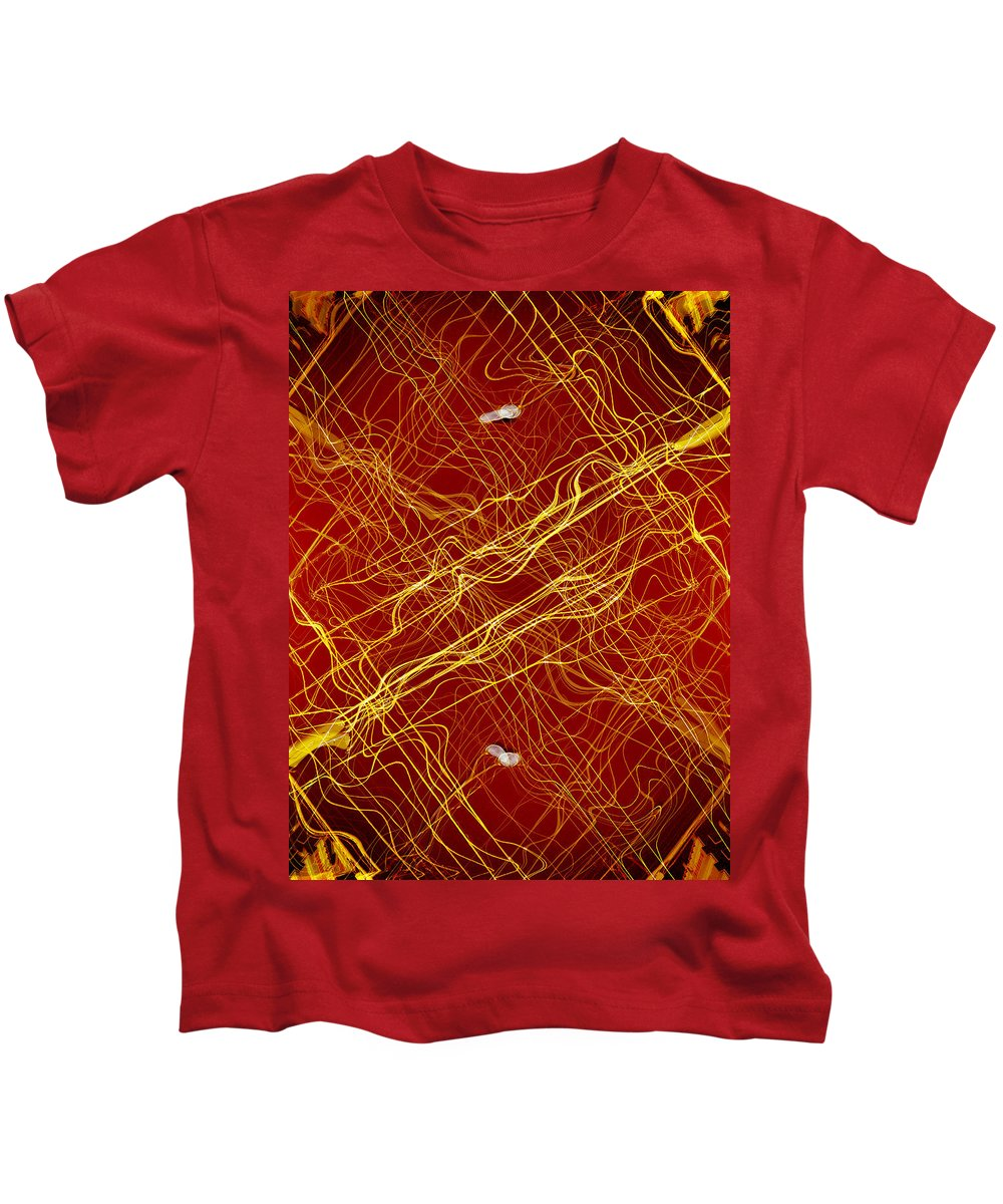 Deep Kids T-Shirt featuring the digital art Oa-1970 by Standa1one