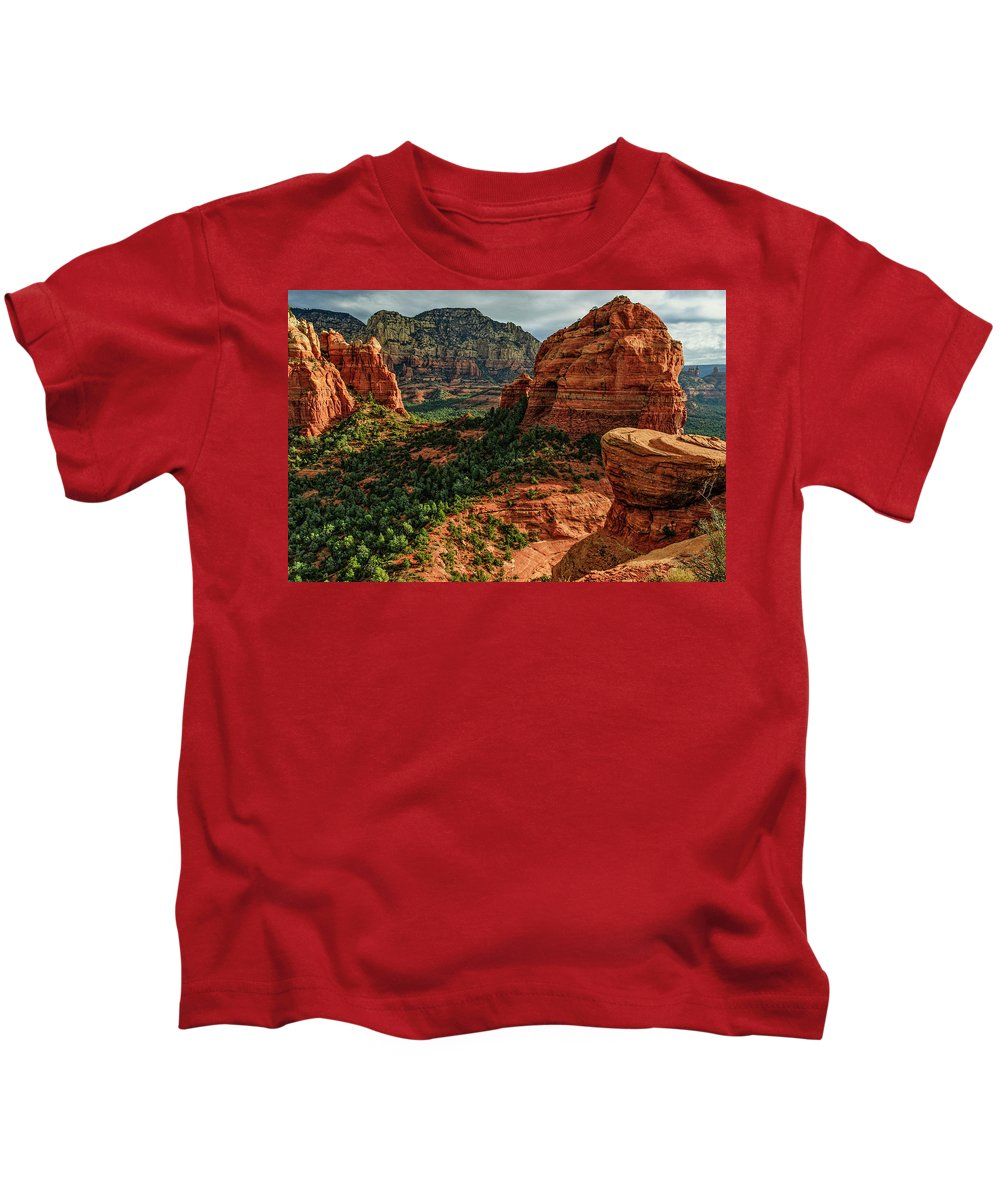 Arizona Kids T-Shirt featuring the photograph Olaf 06-32 by Scott McAllister