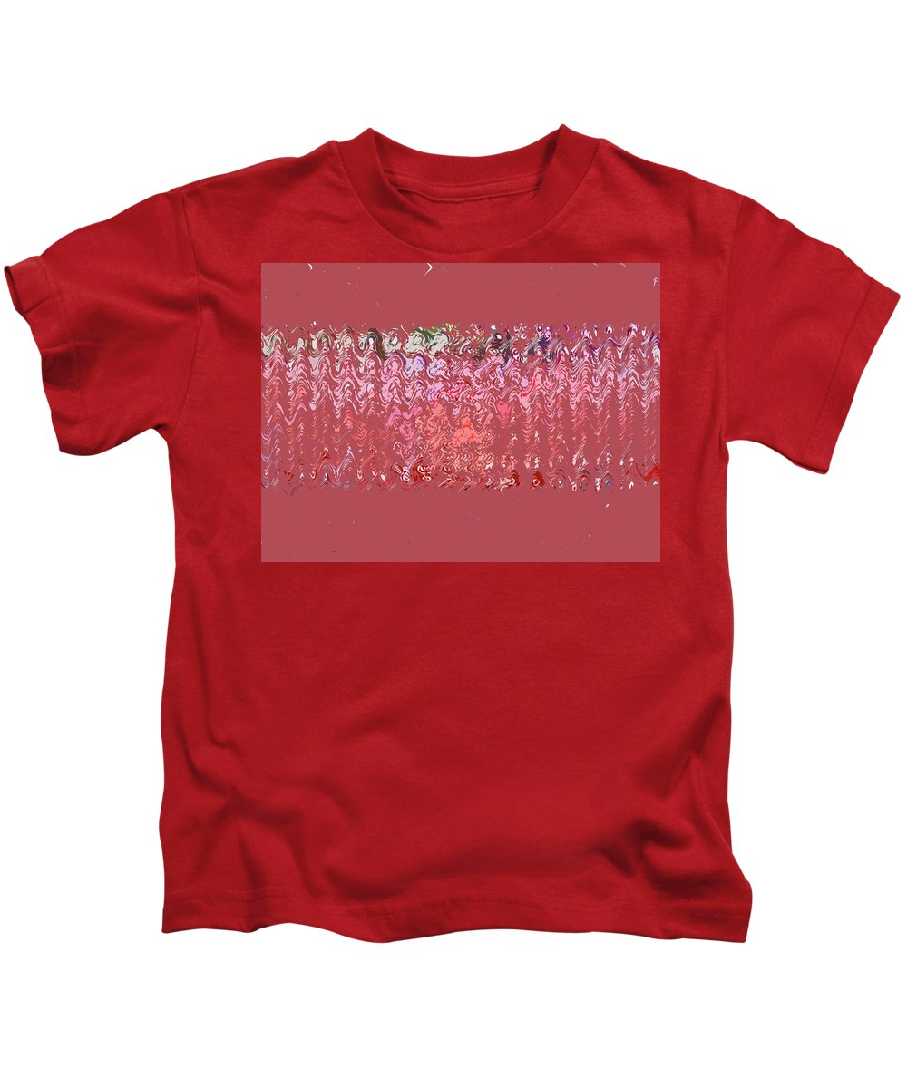 Abstract Kids T-Shirt featuring the digital art Paranormal by Lenore Senior
