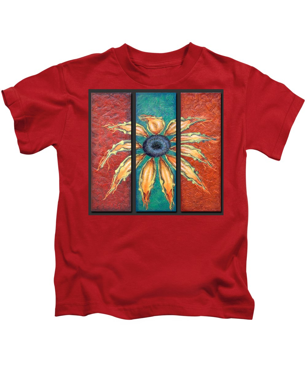 Flower Kids T-Shirt featuring the painting Petals by Kelly Jade King