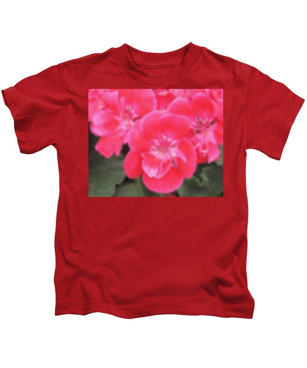 Pink Kids T-Shirt featuring the photograph Pink by Ian MacDonald