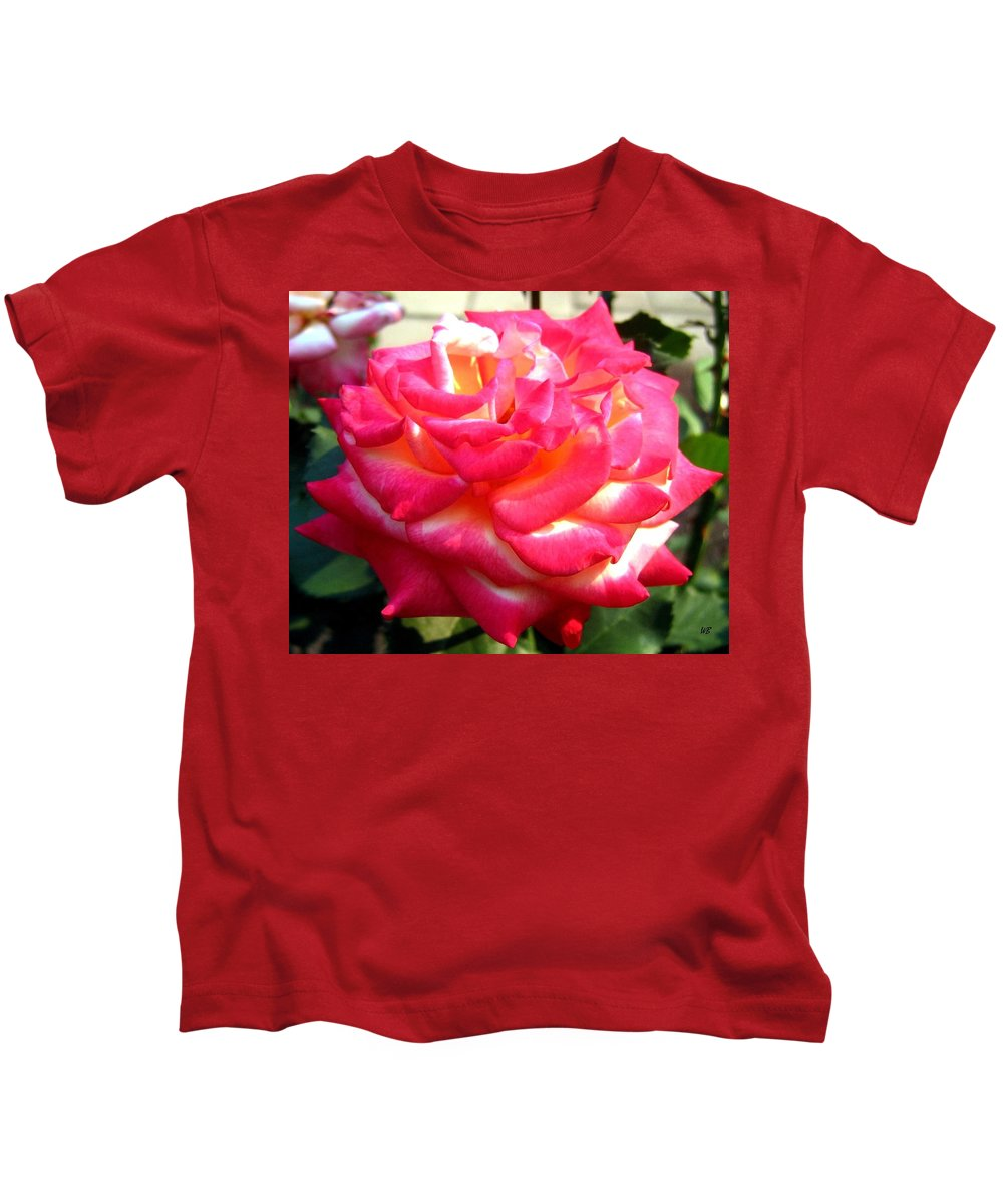 Rose Kids T-Shirt featuring the photograph Pink Perfection by Will Borden