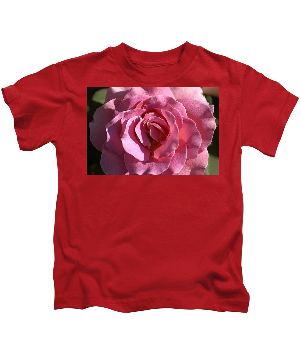 Clay Kids T-Shirt featuring the photograph Pink Rose by Clayton Bruster