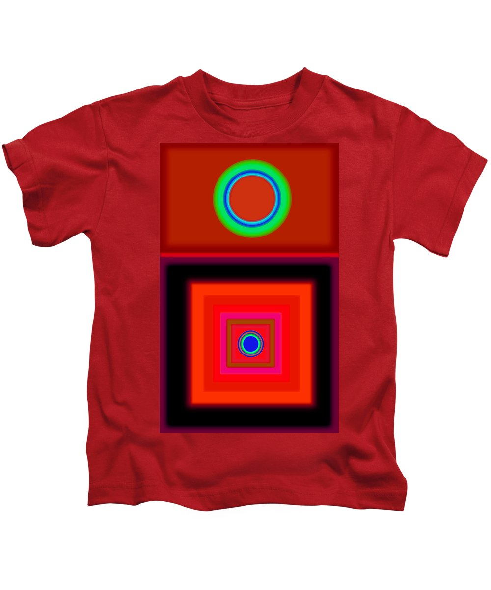 Classical Kids T-Shirt featuring the digital art Radio Palladio by Charles Stuart