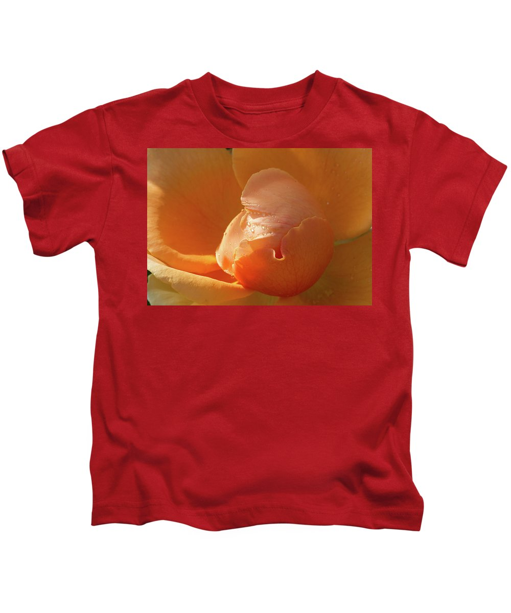 Rose Kids T-Shirt featuring the photograph Refreshing by Phyllis Denton