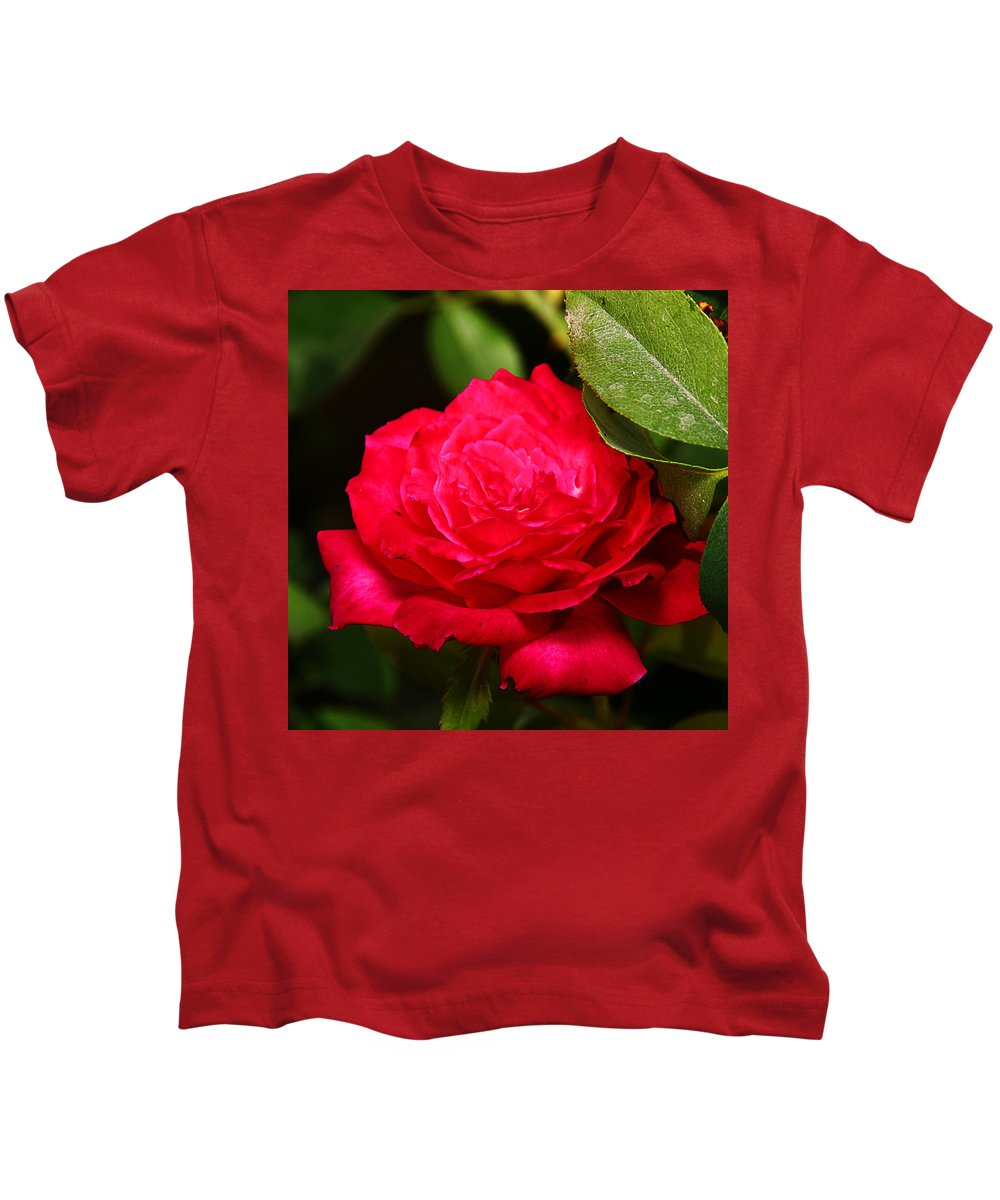 Flower Kids T-Shirt featuring the photograph Rose by Anthony Jones