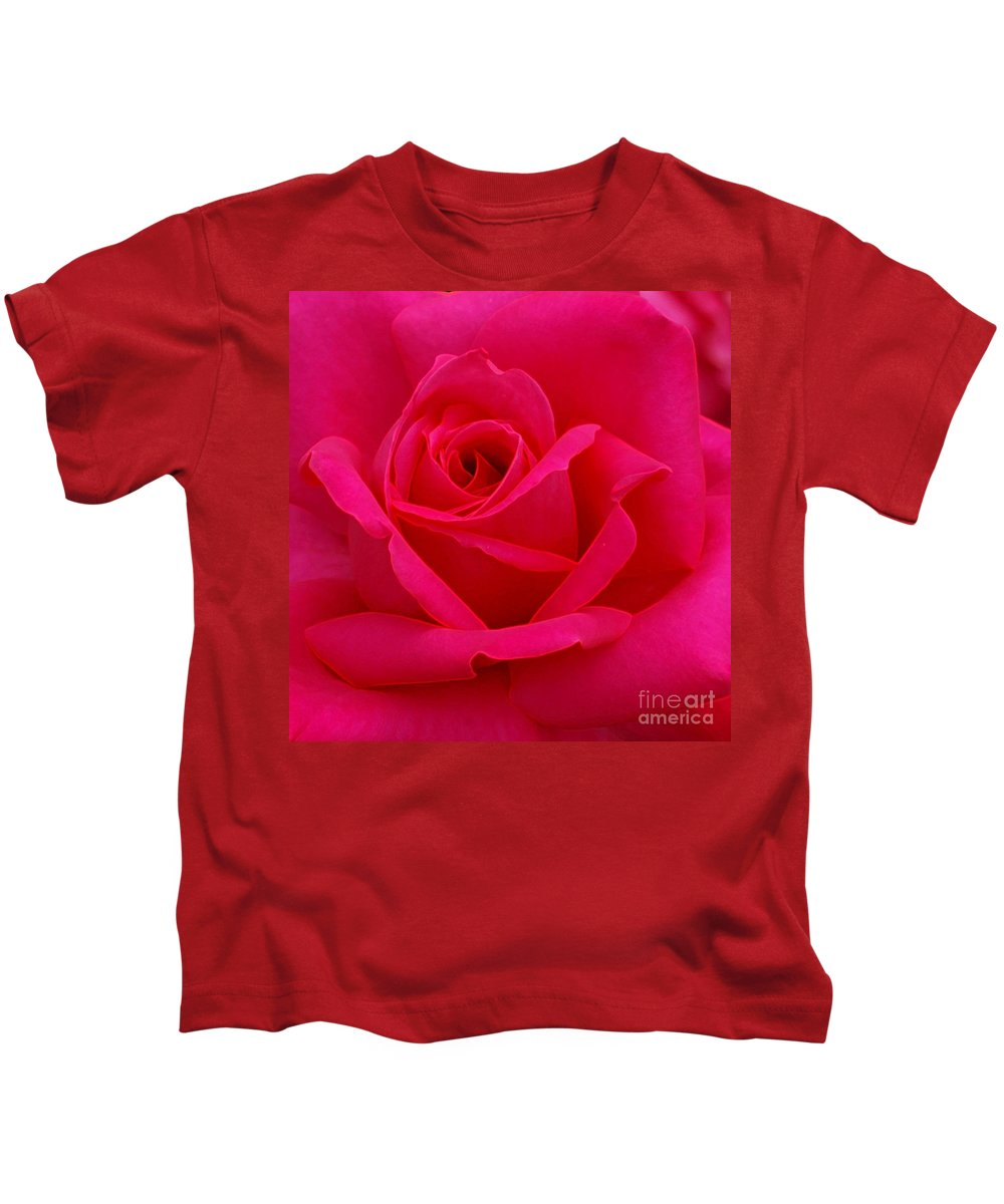 Rose Kids T-Shirt featuring the photograph Rose by Kathleen Struckle