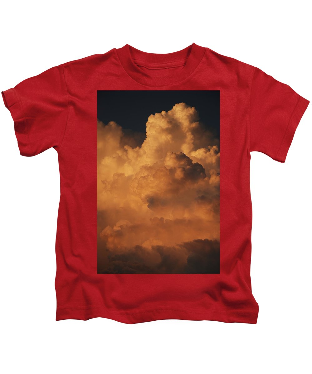 Clouds Kids T-Shirt featuring the photograph Shades Of Color by Rob Hans