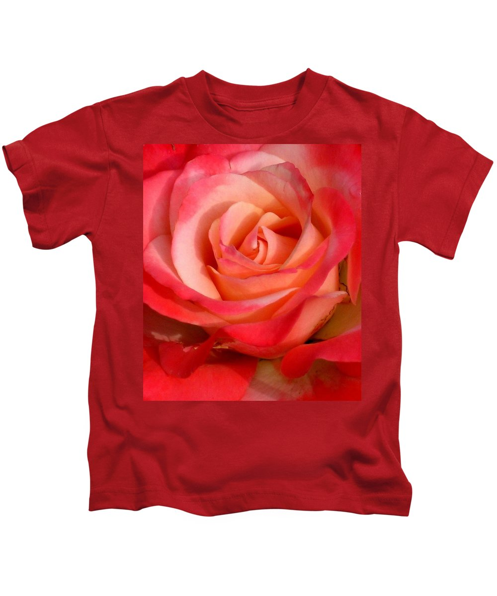 Rose Kids T-Shirt featuring the photograph Sheer Magic by Marla McFall