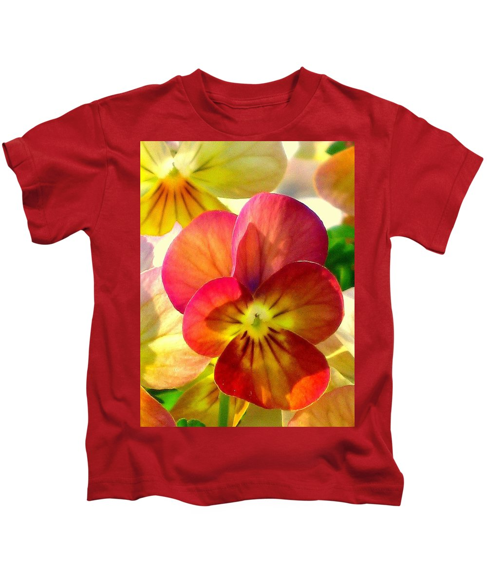 Floral Kids T-Shirt featuring the photograph Spring Has Sprung by Marla McFall