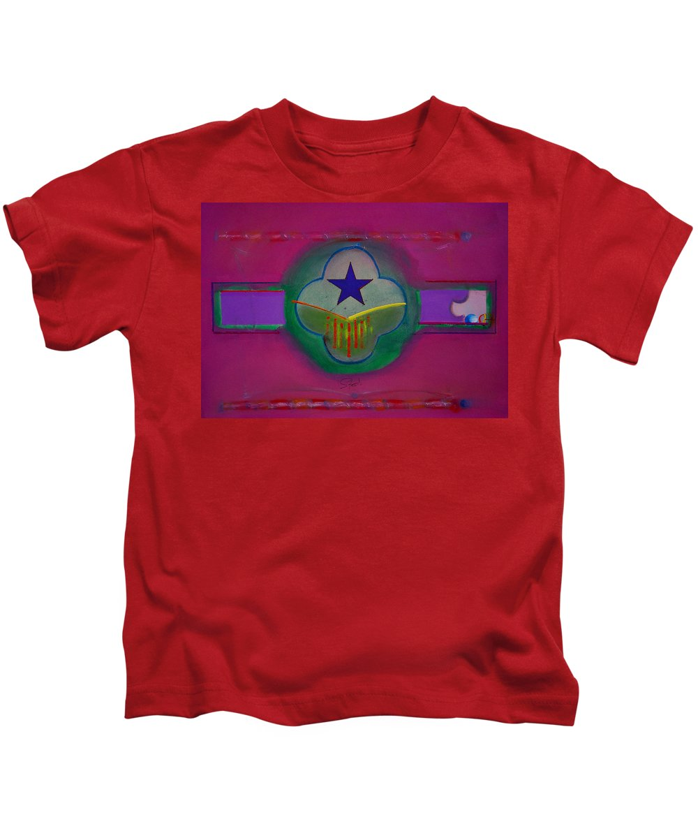 Star Kids T-Shirt featuring the painting Star Of Venice by Charles Stuart