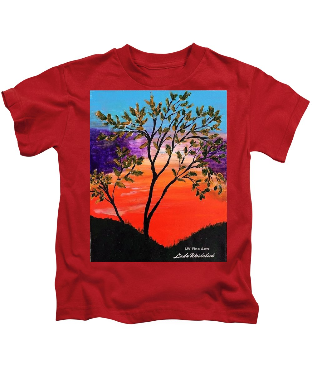 Summer Kids T-Shirt featuring the painting Summer Dream by Linda Waidelich