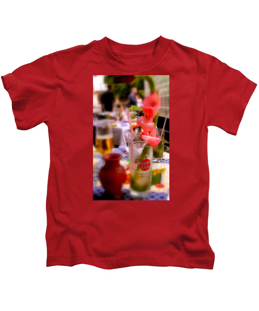 Cuba Kids T-Shirt featuring the photograph Sweet Havana by Karen Wiles