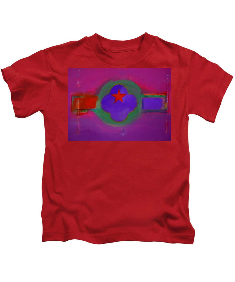 Star Kids T-Shirt featuring the painting Venice Spiritual by Charles Stuart