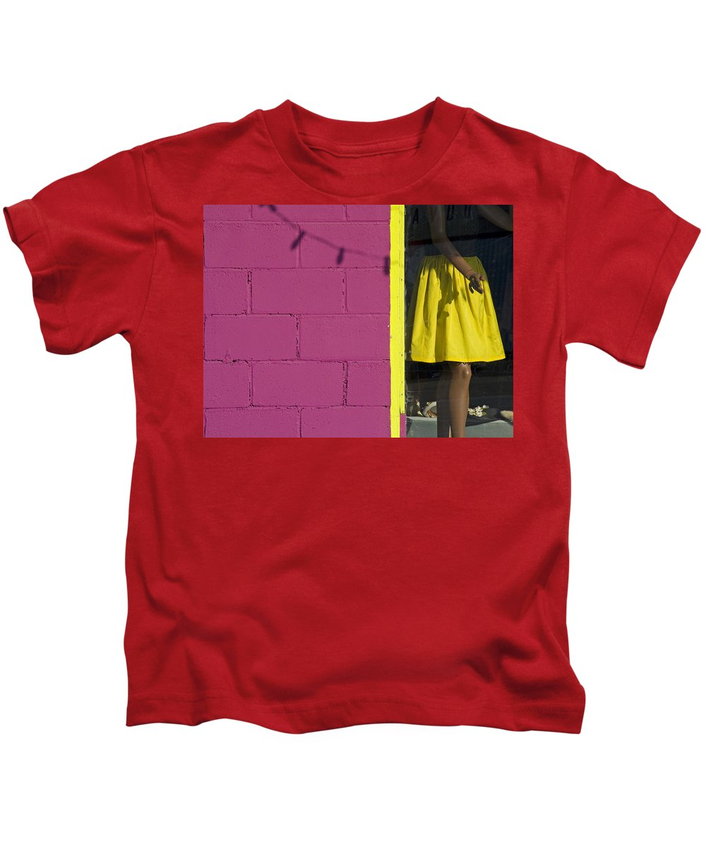 Woman Kids T-Shirt featuring the photograph Waiting by Skip Hunt