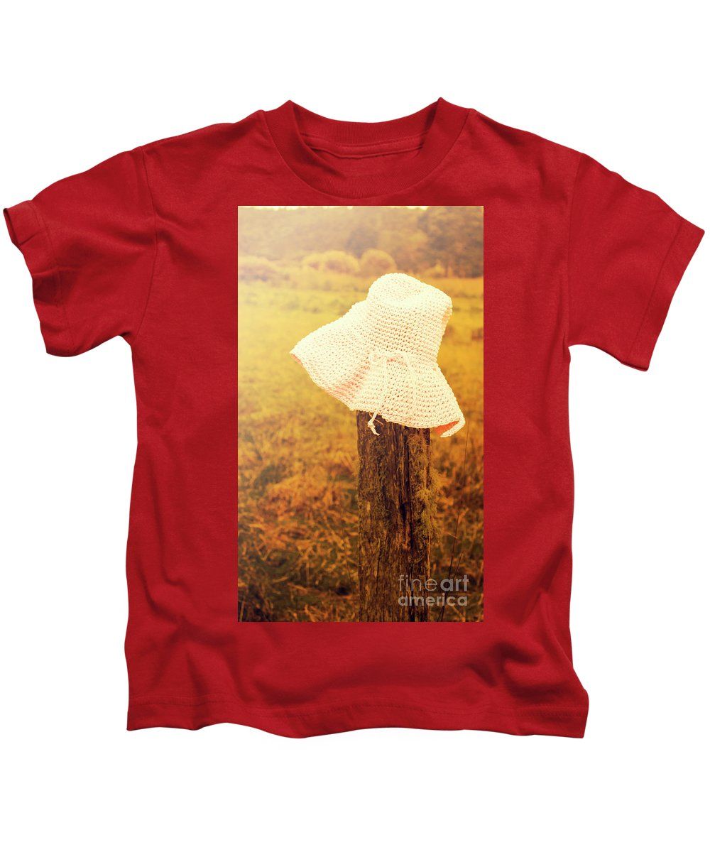 Knit Hat Photographs Kids T-Shirts