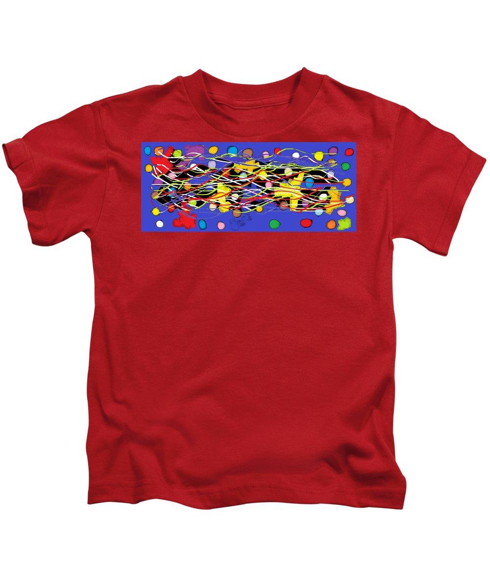 Digital Kids T-Shirt featuring the digital art Wish - 341 by Mirfarhad Moghimi