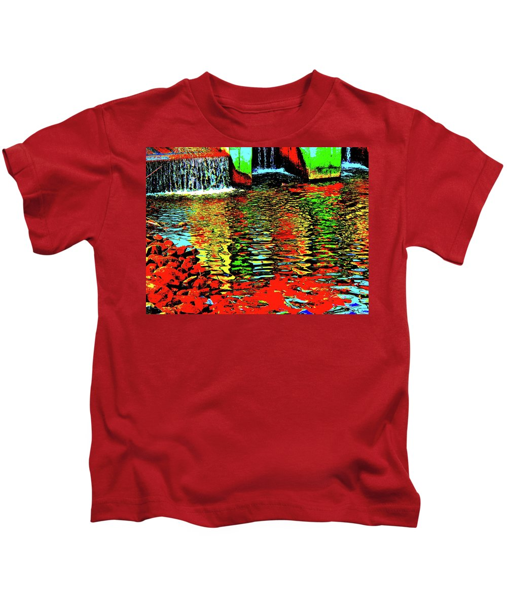 Landscape Kids T-Shirt featuring the photograph Canton Central 15 by George Ramos