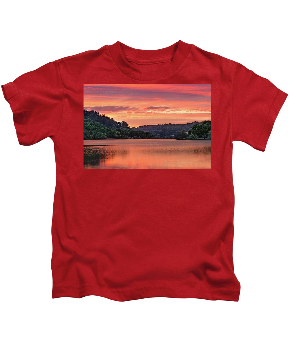 Sunrise Kids T-Shirt featuring the photograph Promise And Peace by Tran Boelsterli