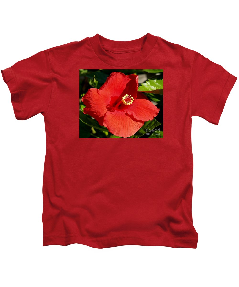 Fine Art Photography Kids T-Shirt featuring the photograph Leila by Patricia Griffin Brett