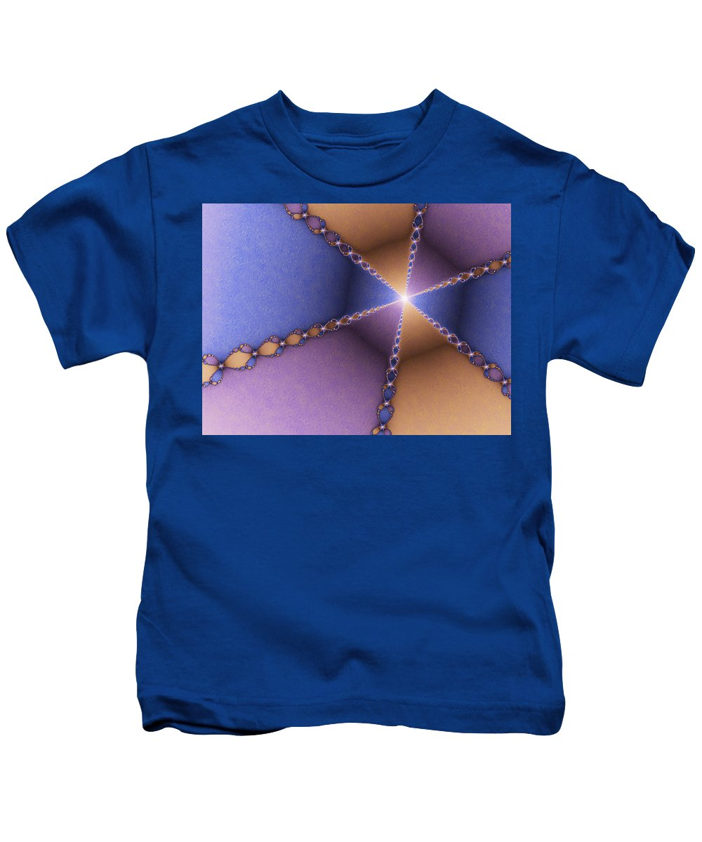 Digital Art Kids T-Shirt featuring the digital art The Journey To The Light by Gabiw Art