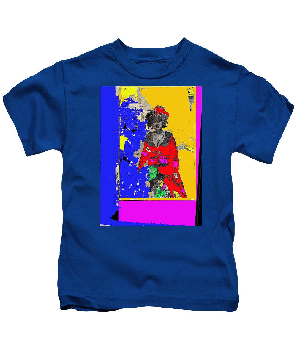 The Train Robbers Homage 1973 Ann-margret Want To Be Kids T-Shirt featuring the photograph The Train Robbers Homage 1973 Ann-margret Want To Be by David Lee Guss