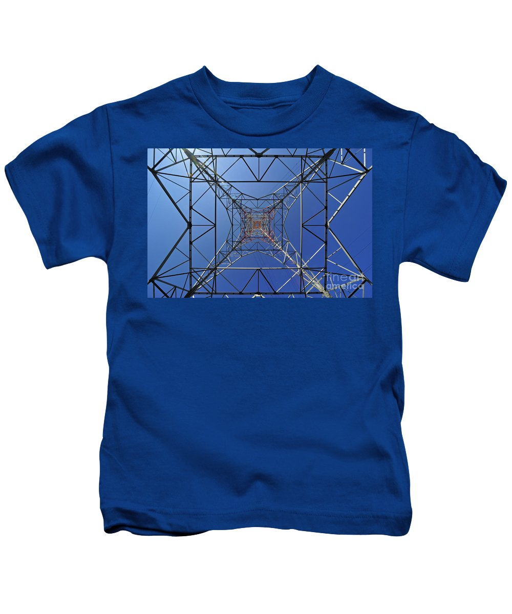 Abstract Kids T-Shirt featuring the photograph 110307p009 by Arterra Picture Library