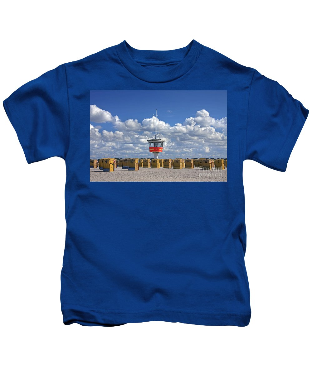 Travem�nde Kids T-Shirt featuring the photograph 110506p022 by Arterra Picture Library