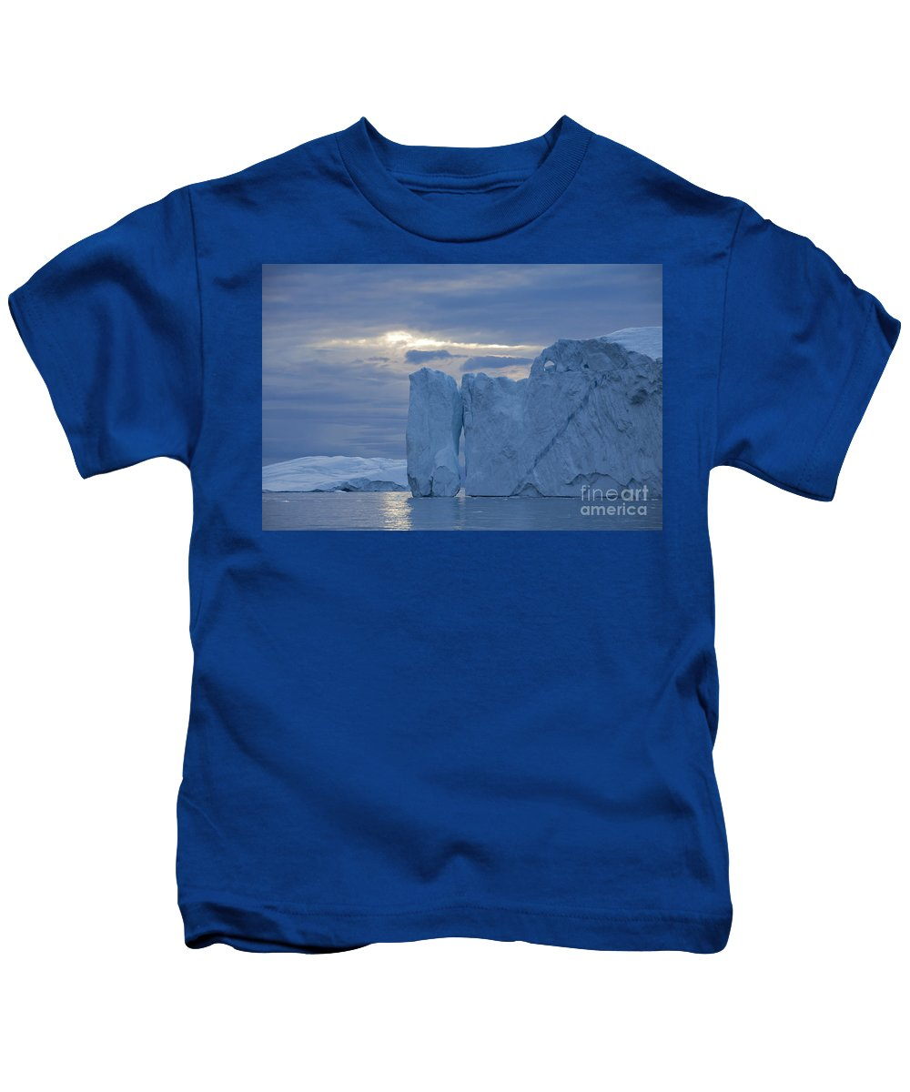 Iceberg Kids T-Shirt featuring the photograph 110613p180 by Arterra Picture Library